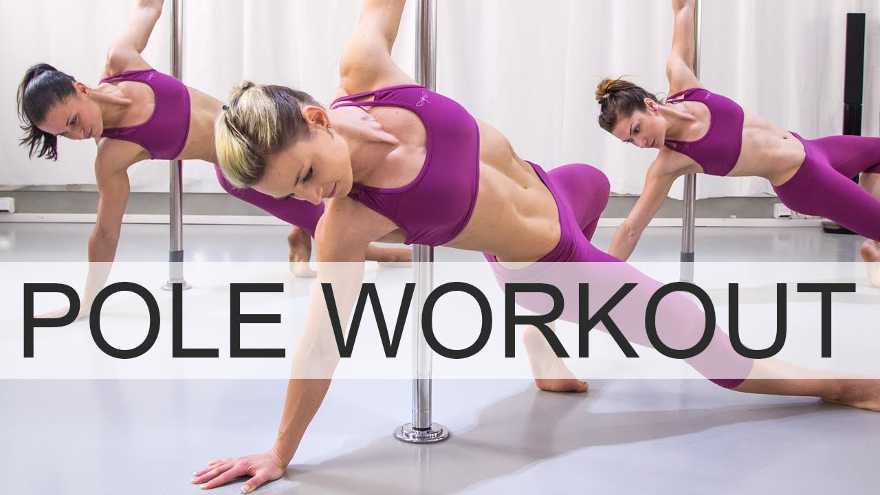 Just do 15 minutes daily pole workout and get and slim and sexy figure