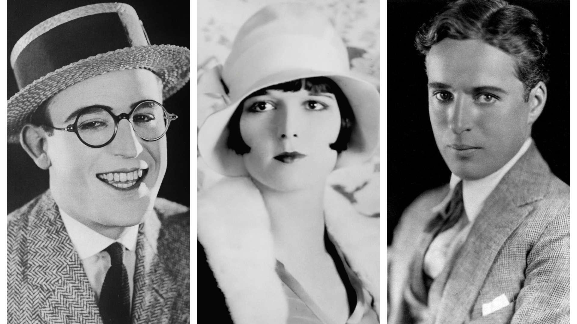Amazing superstars of the silent film era