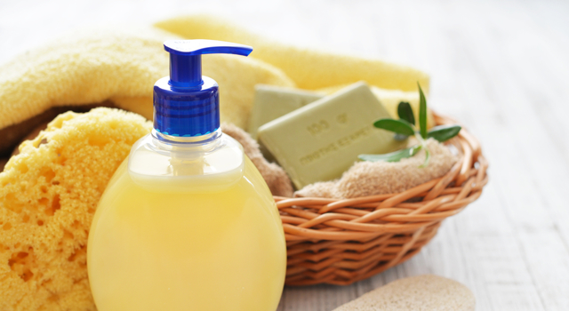 DIY: shower gel with olive oil and honey