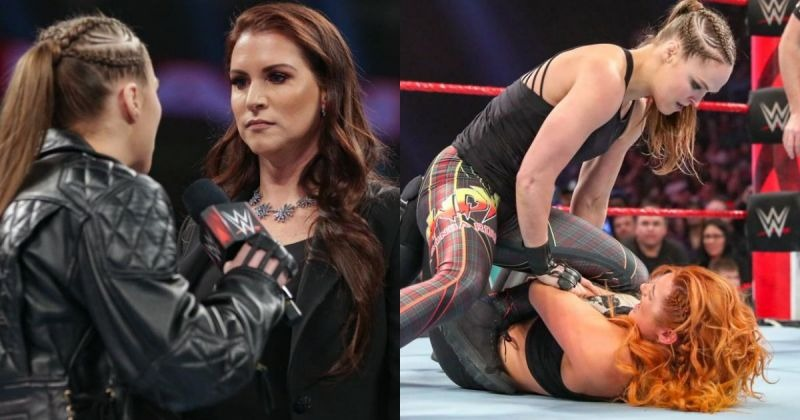 WWE News: Ronda Rousseau admitted that she had gone off-script in Raw