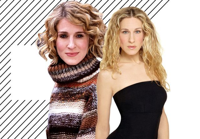 Sarah Jessica Parker: back on her cult haircuts
