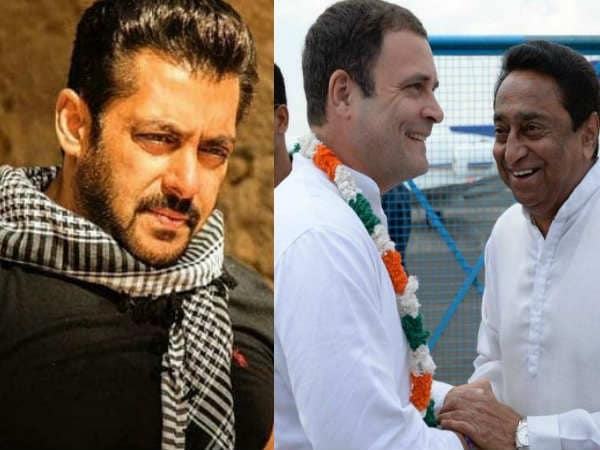 Salman Khan, who came with Congress, will work with CM Kamal Nath Read