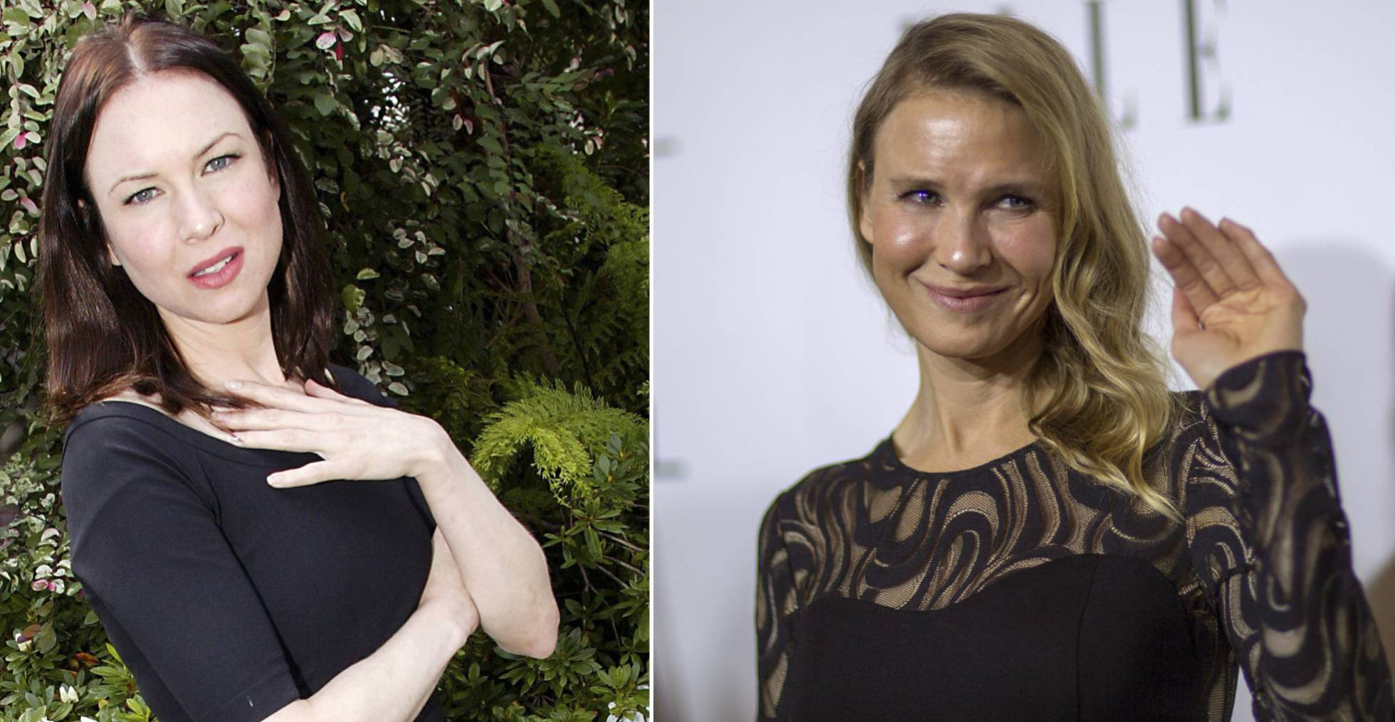 The different faces of Renee Zellweger at the age of 50