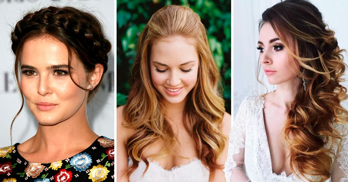 13 Hairstyle ideas according to the style of your dress