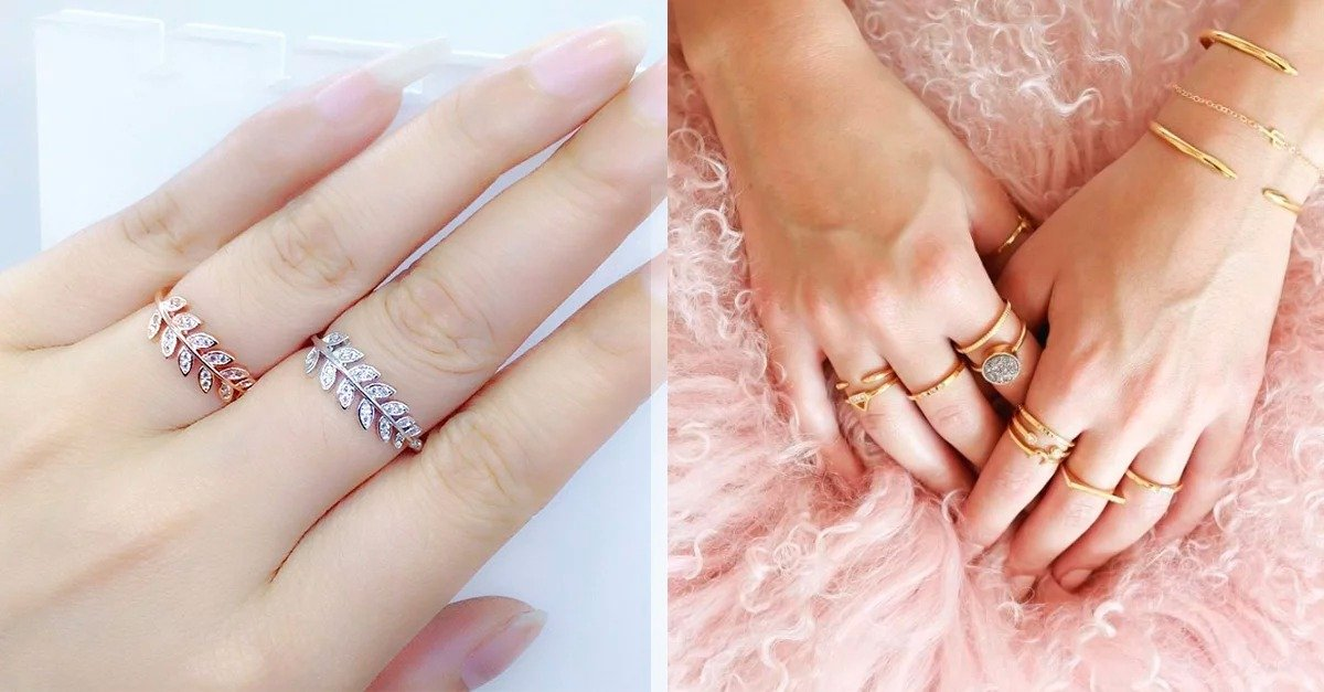 Know the meaning of each ring according to the finger on which you wear it