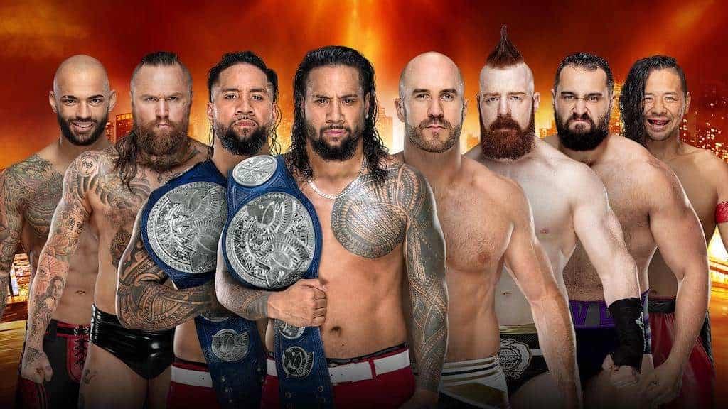 WrestleMania 35: Usos in a Fatal 4-Way