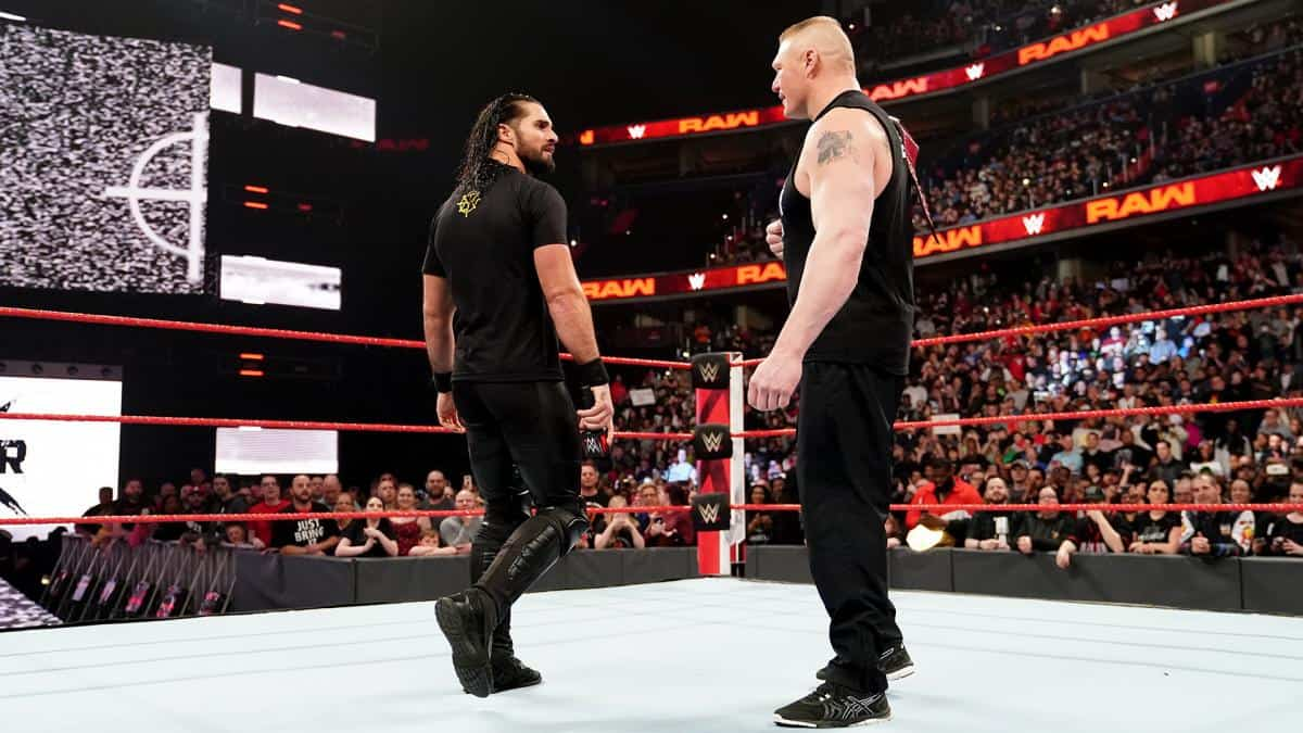 RAW: Seth Rollins / Brock Lesnar segment changed at the last minute