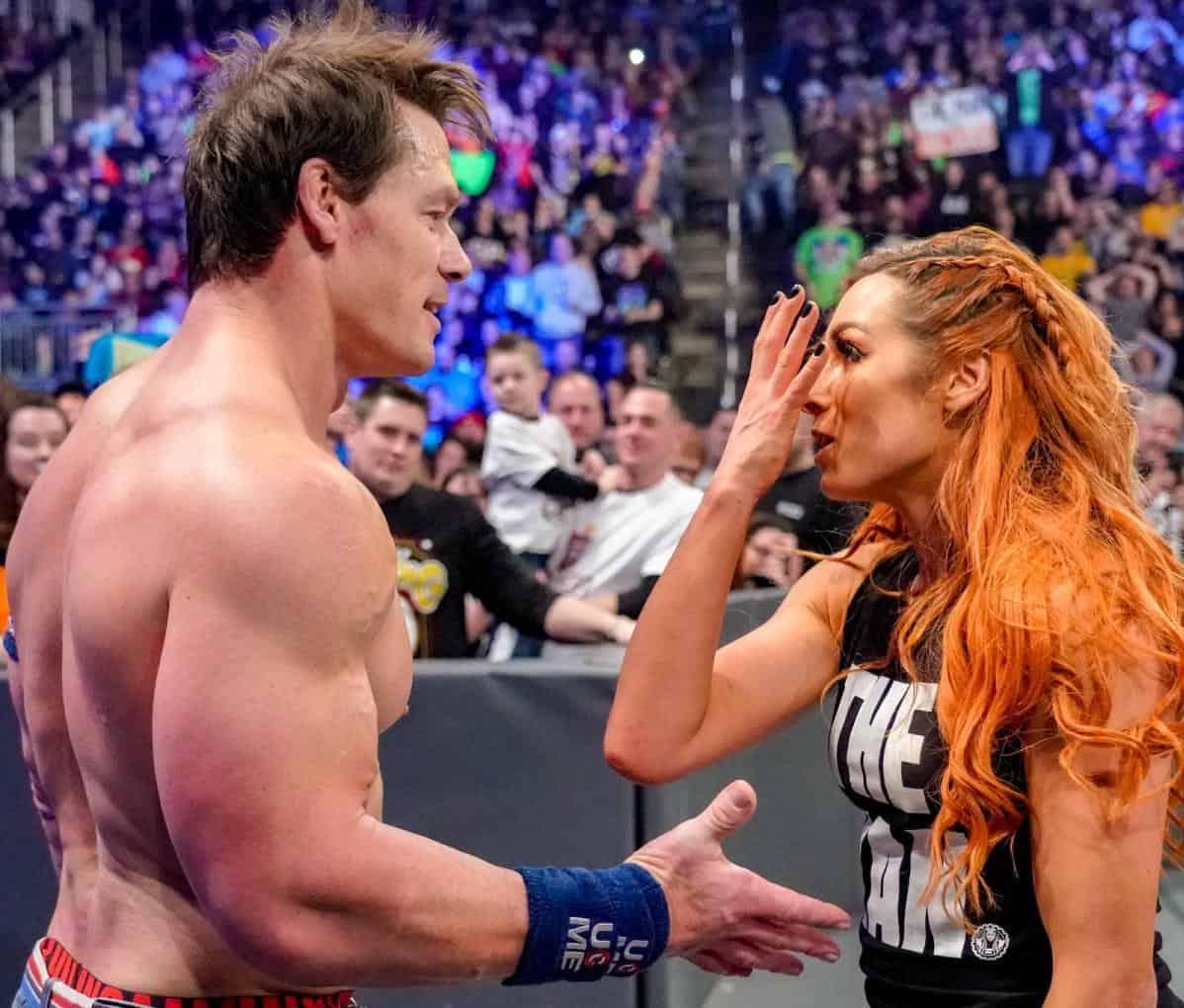 WrestleMania in danger, John Cena and Becky Lynch complain!