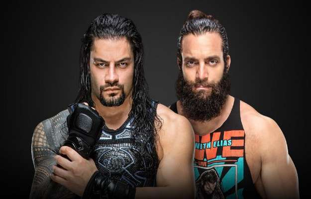 Roman Reigns will face Elias in WWE Money in the Bank