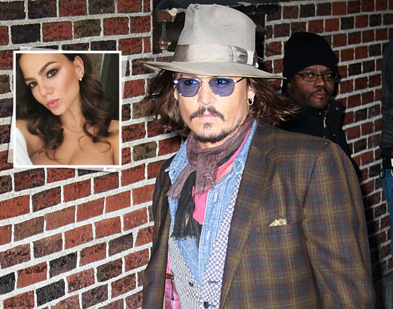 They say that Johnny Depp has a new girlfriend: a Russian dancer 30 years younger