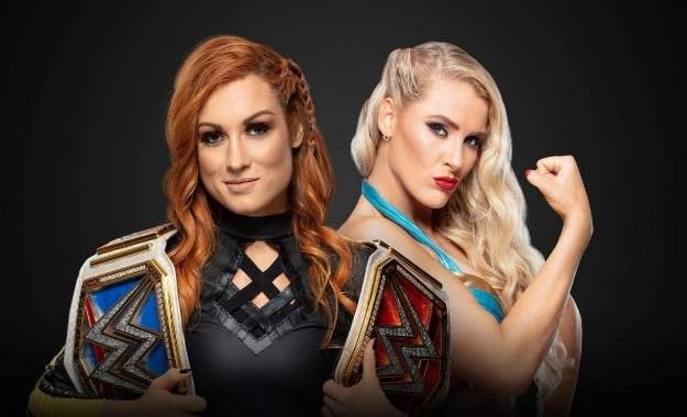 Becky Lynch vs. Lacey Evans for the official RAW title for Money in the Bank