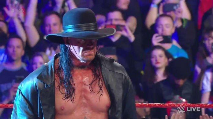 Passing RAW, the Undertaker attacks Elias