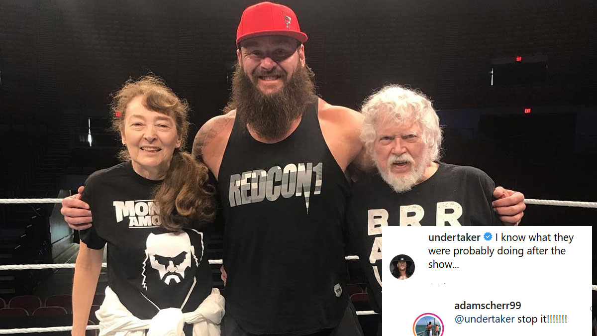 Undertaker launches humor on Instagram