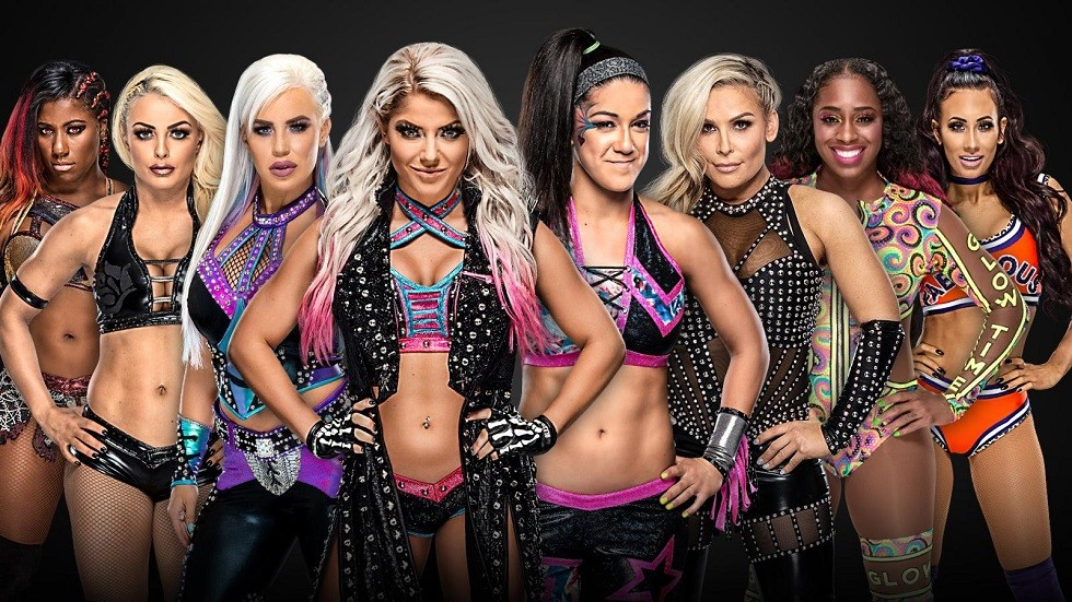 The rest of the female participants are confirmed to the Money In The Bank Match