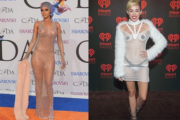 10 celebrities who showed us everything on the red carpet