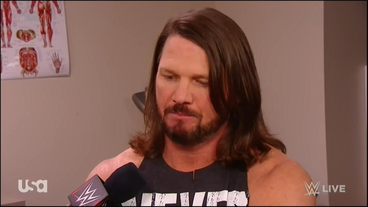 WWE announces injury for AJ Styles