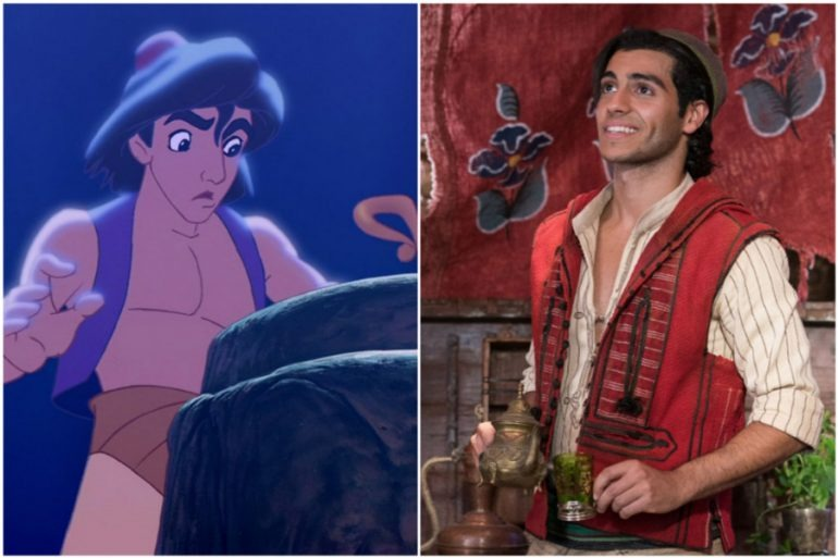 This is the reason why the new Aladdin wears a shirt