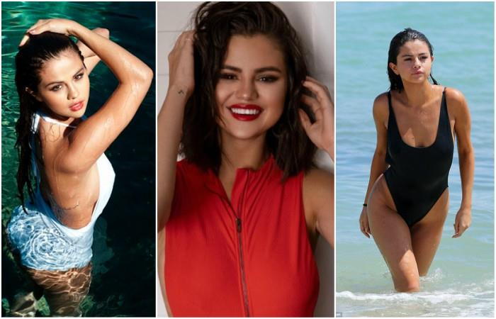 Selena Gomez has just launched her first collections of bikinis to hide scars