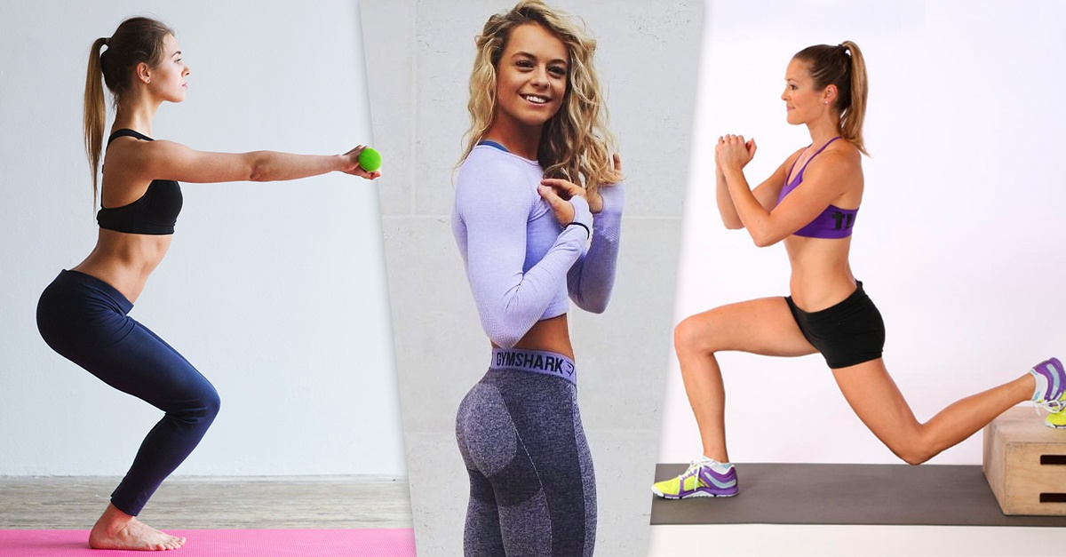 5 Sensational types of squats that will give volume to your buttocks