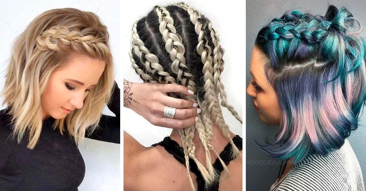 10 boho style braids for short hair