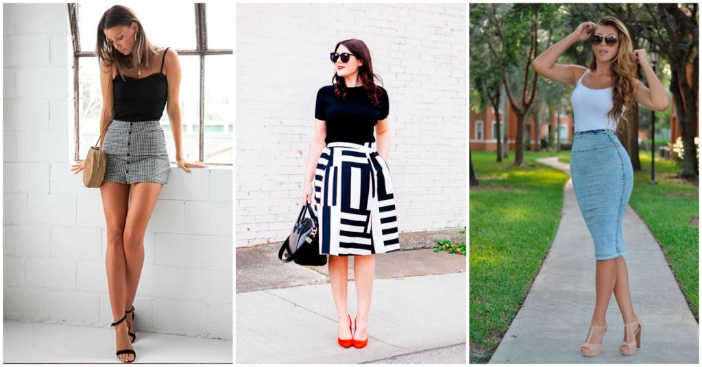 These are the shoes that wear according to the length of your skirt