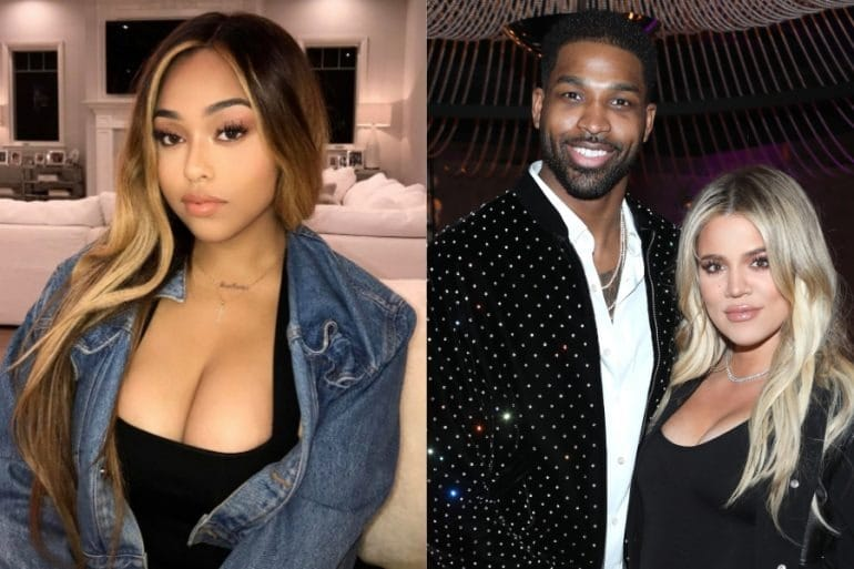 This was the meeting of Jordyn Woods with Khloe Kardashian after the scandal with Tristan Thompson