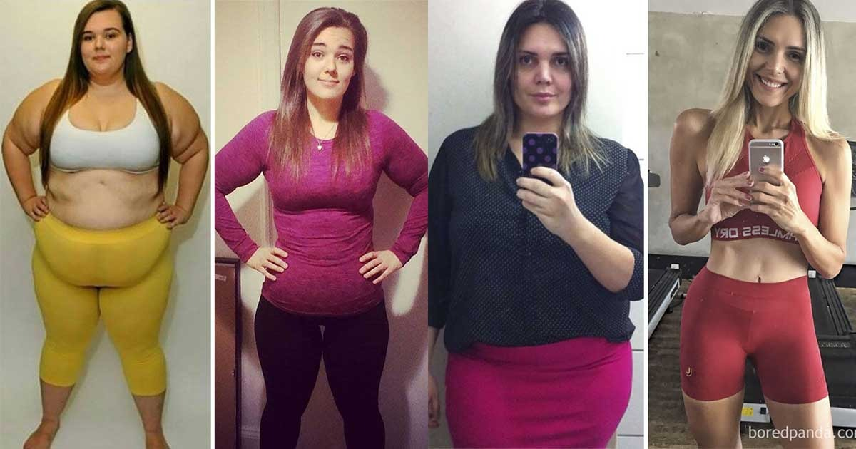 4 Girls who Lost Weight Incredibly