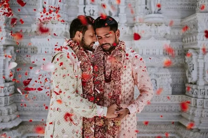 Celebrating Diversity: Gay Couple Engage Hindu Marriage, Thrill Web