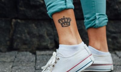 crown tattoos for king and queen or couples