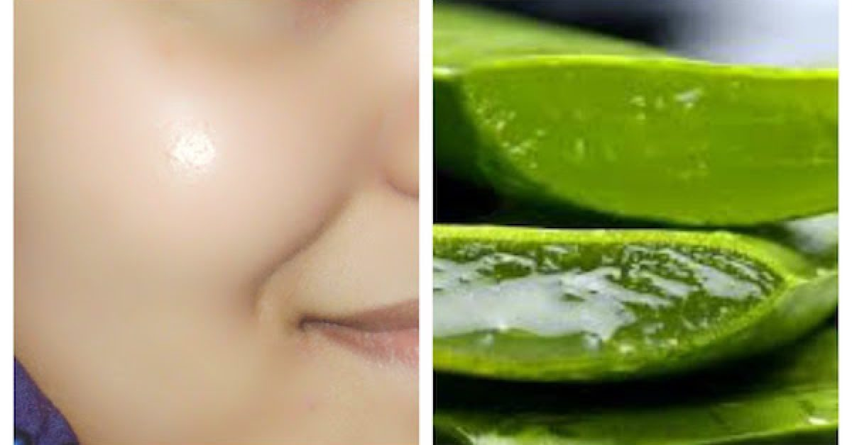 Aloe vera for face Benefits