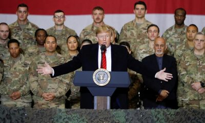 Trump's sneak Thanksgiving trip to Afghanistan