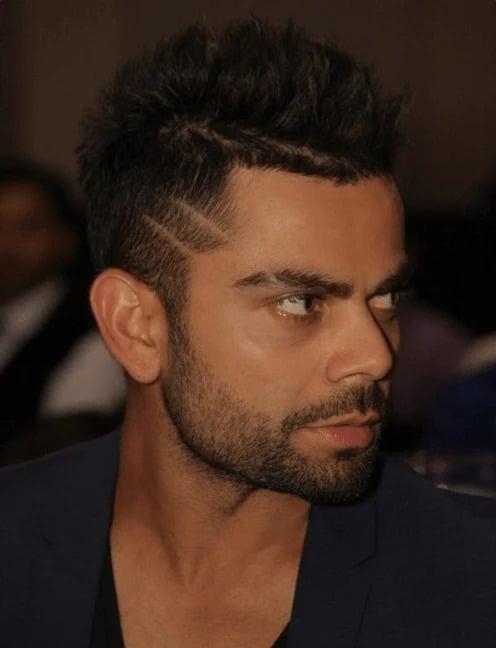 virat kohli hairstyles names