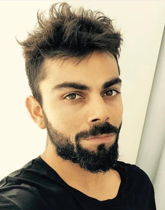 virat kohli hairstyles 2018