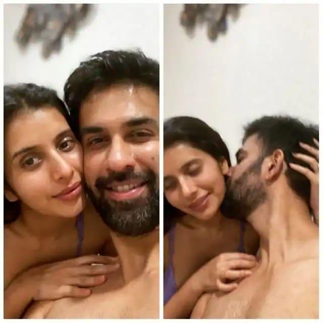 Charu Asopa intimate picture with rajive sen