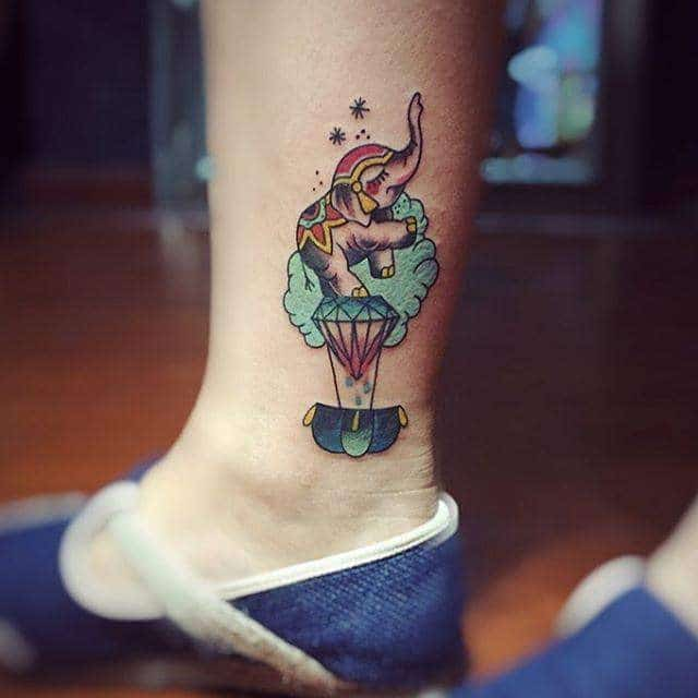 cute-elephant tattoo